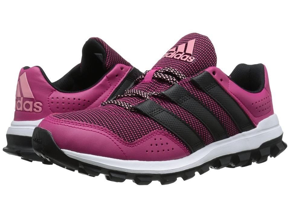adidas Running Slingshot Trail Bold Pink/Black/Super Pop Womens Shoes
