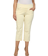 Jag Jeans Plus Size - Plus Caley Pull-On Crop Classic Fit in Custard