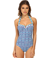 Tommy Bahama - Kaleidoscope V Front Halter One-Piece