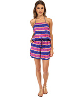 Tommy Bahama - Paint Stripe Short Romper Cover-Up