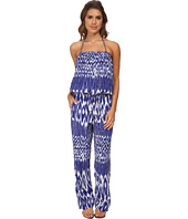 Tommy Bahama - Tie-Dye Bandeau Long Romper Cover-Up