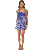 Tommy Bahama - Tie-Dye Spag Strap Short Romper Cover-Up
