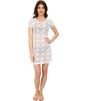 Tommy Bahama - Crochet Lace Short T-Shirt Dress Cover-Up