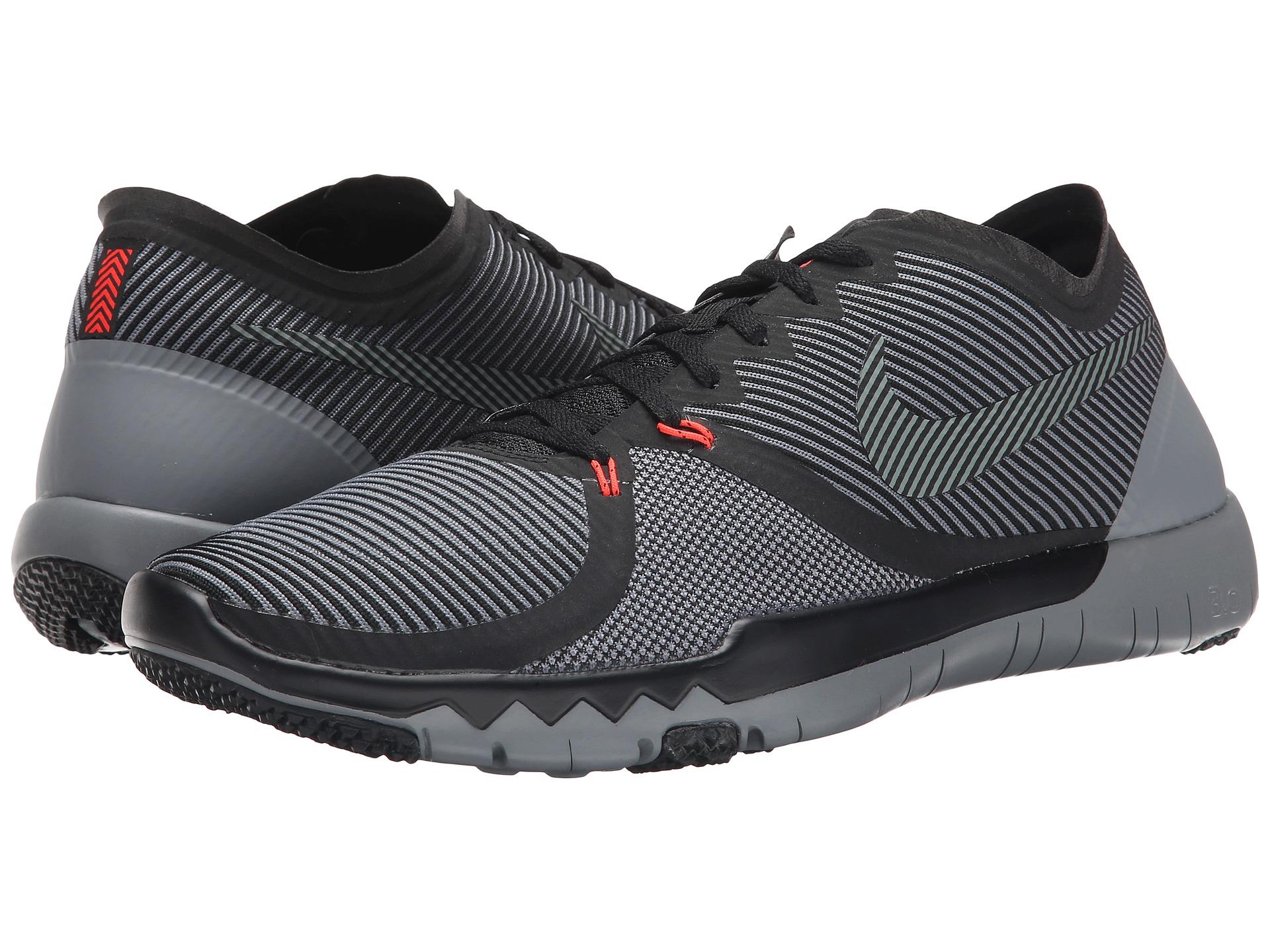 Nike Nike Trainer Gratuit 3.0 V4 Noir / Gris Léopard