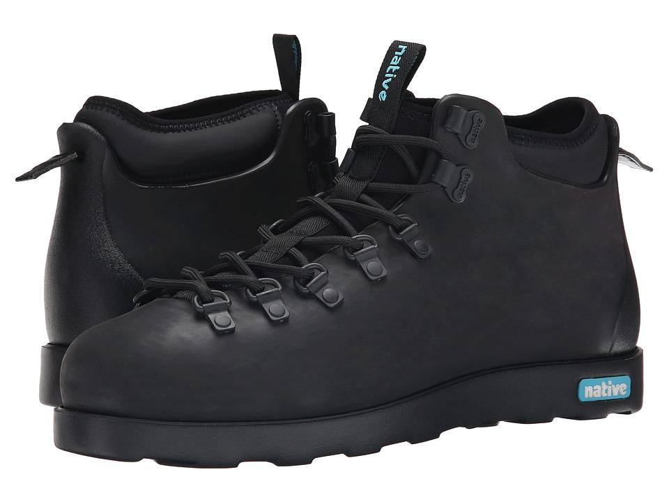 Native Shoes - Fitzsimmons (Jiffy Black/Jiffy Black 2) Shoes