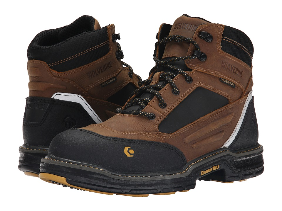 Wolverine Overman 6 Composite Toe Boot (Wheat/Tan) Men