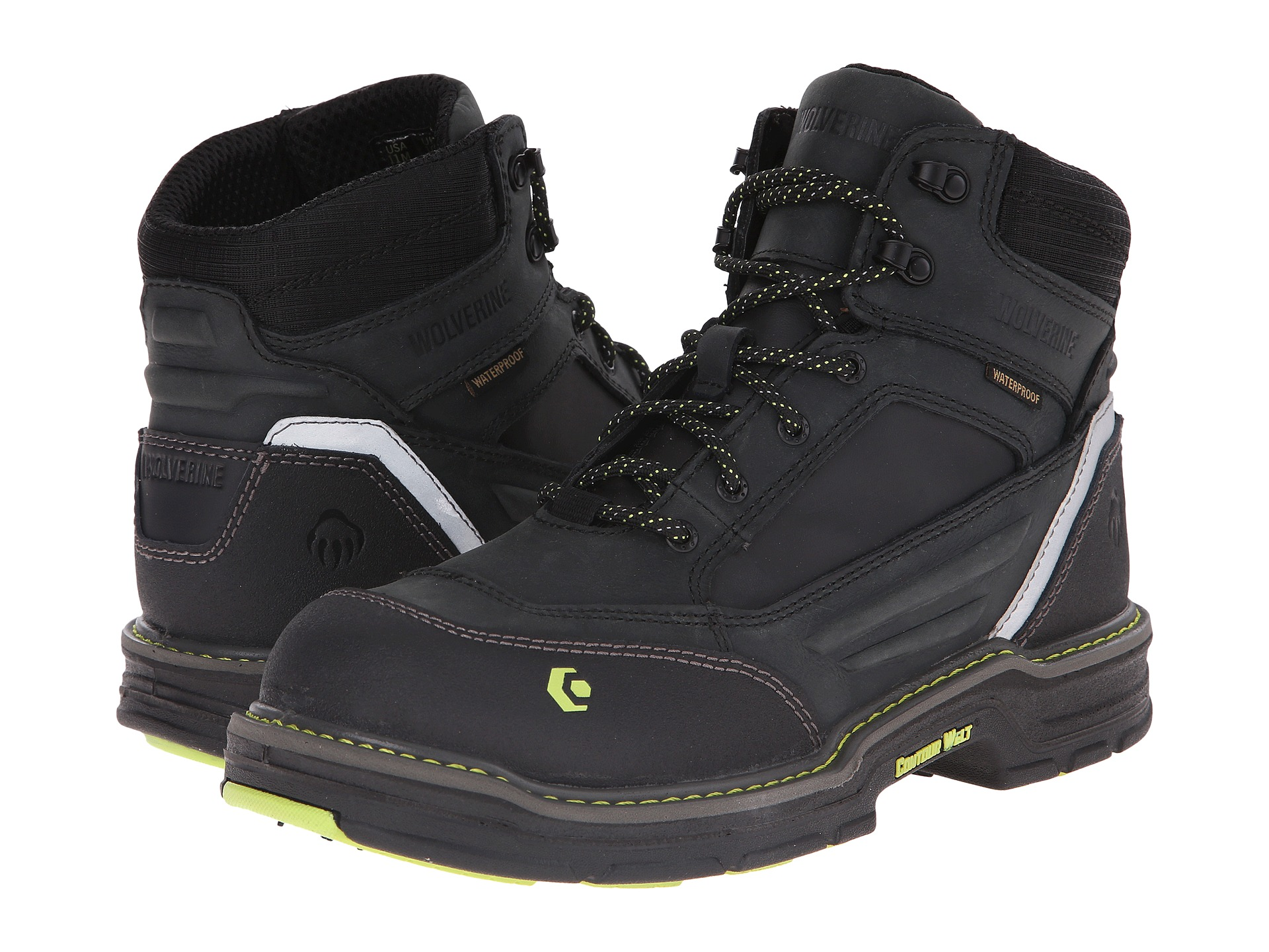 """Wolverine Overman 6"""" Composite Toe Boot at 6pm.com"""