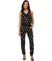 NYDJ - Milly Printed Tuxedo Jumpsuit