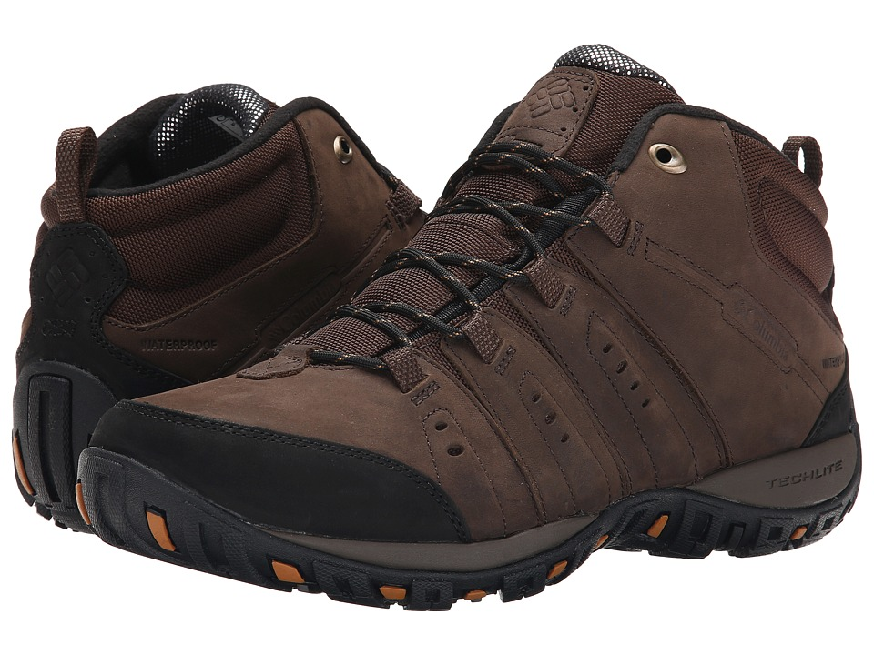 Columbia - Peakfreak Nomad Plus Chukka WP Omni-Heat (Cordovan/Canyon Gold) Men