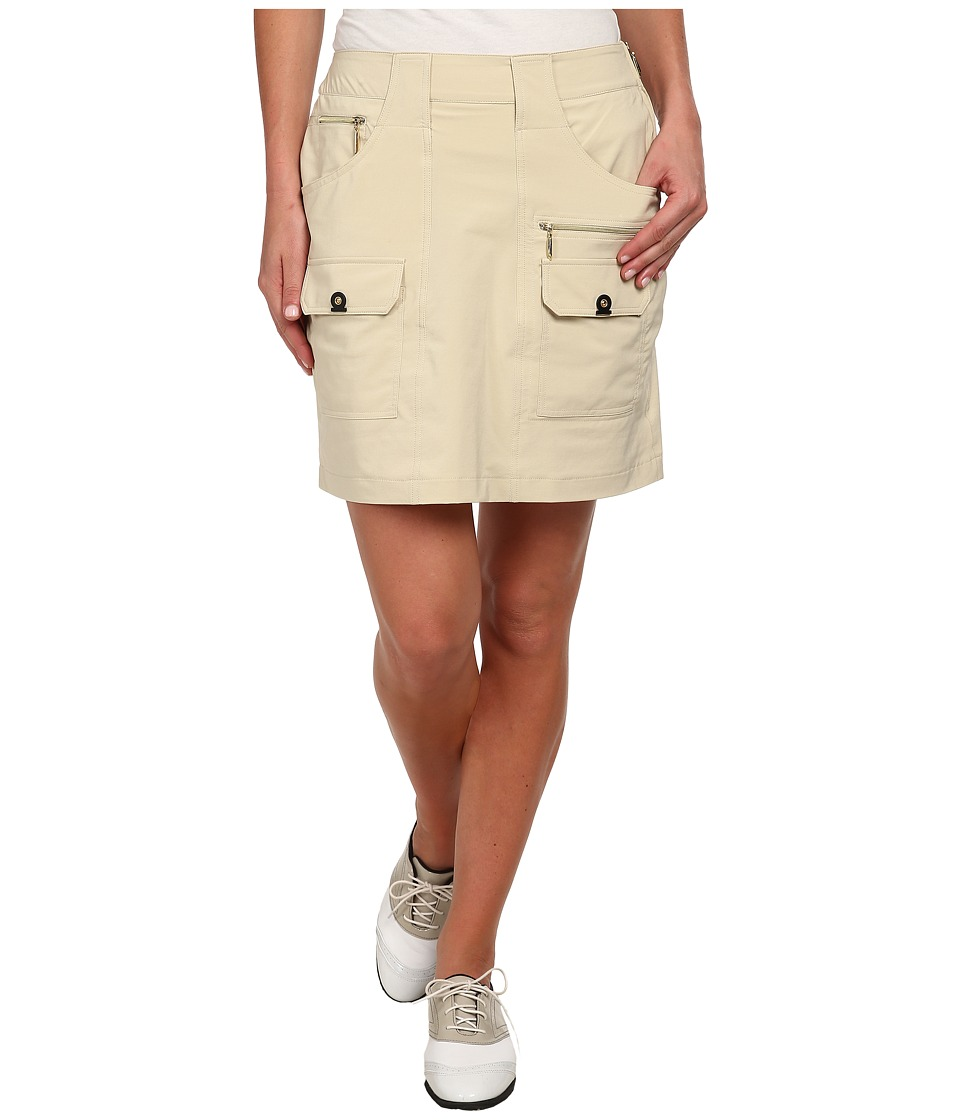 Jamie Sadock Airwear Light Weight 18 in. Skort Shitaki Womens Skort