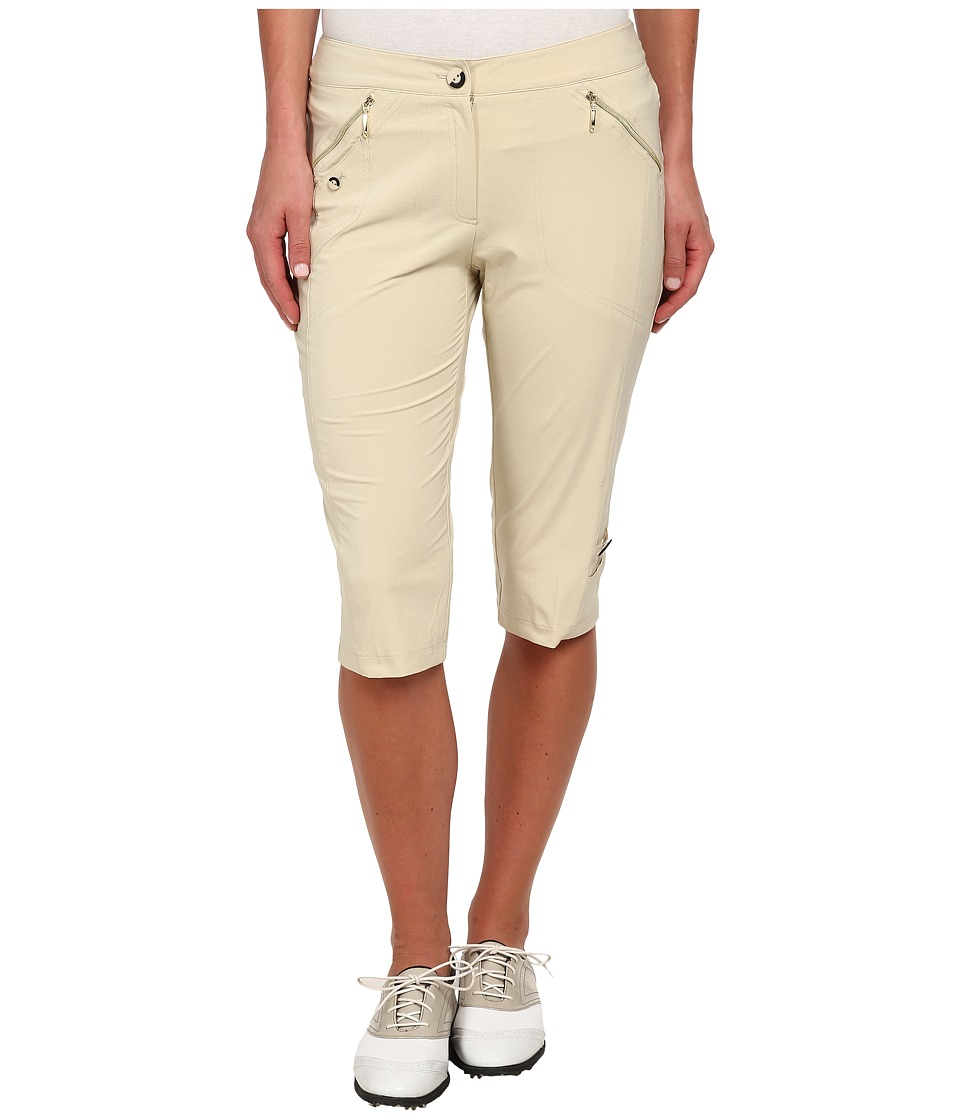 Jamie Sadock Airwear Light Weight 24 in. Knee Capri Shitaki Womens Capri