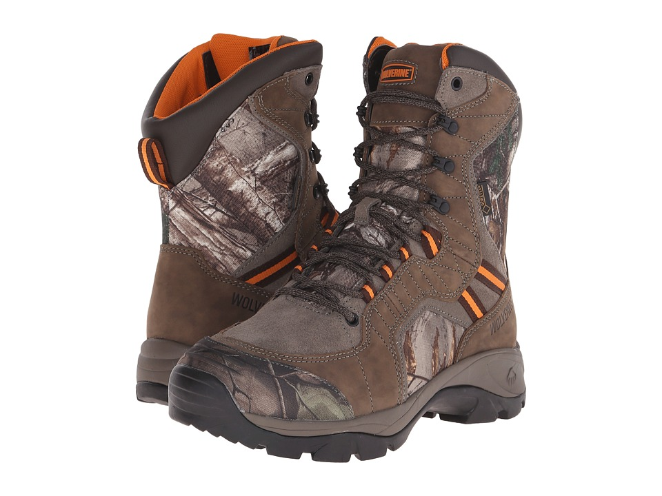 Wolverine Edge Extreme 8 Boot Peat Mens Hiking Boots