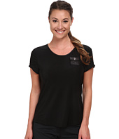 Jamie Sadock - Simply Elegant Short Sleeve Top with Button Pleated Back