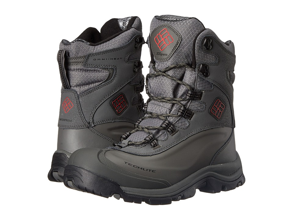 Columbia Bugaboot Plus III Omni-Heat (Charcoal/Bright Red) Men