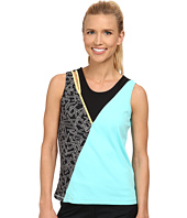 Jamie Sadock - Actif Chopstix Sleeveless Tank Top with Cutout at Shoulder
