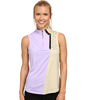 Jamie Sadock - Sleeveless Top With Textured Dots At Shoulders