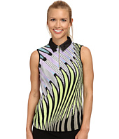 Jamie Sadock - Kaleidoscope Crunchie Sleeveless Top