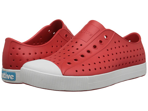 Native Shoes Jefferson - Torch Red/Shell White
