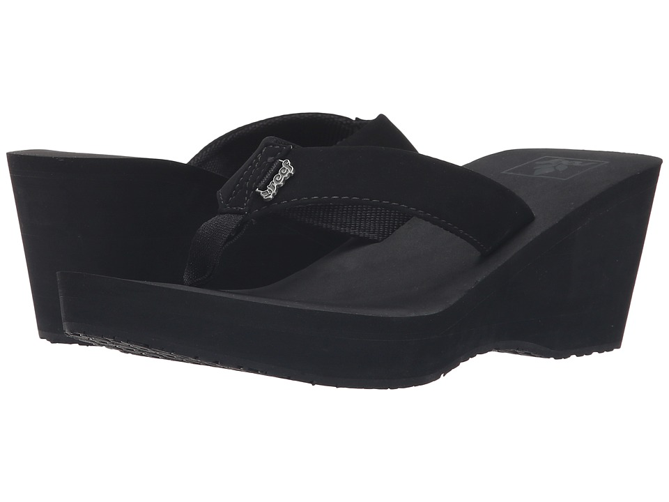 Reef Mid Skies (Black/Black) Women
