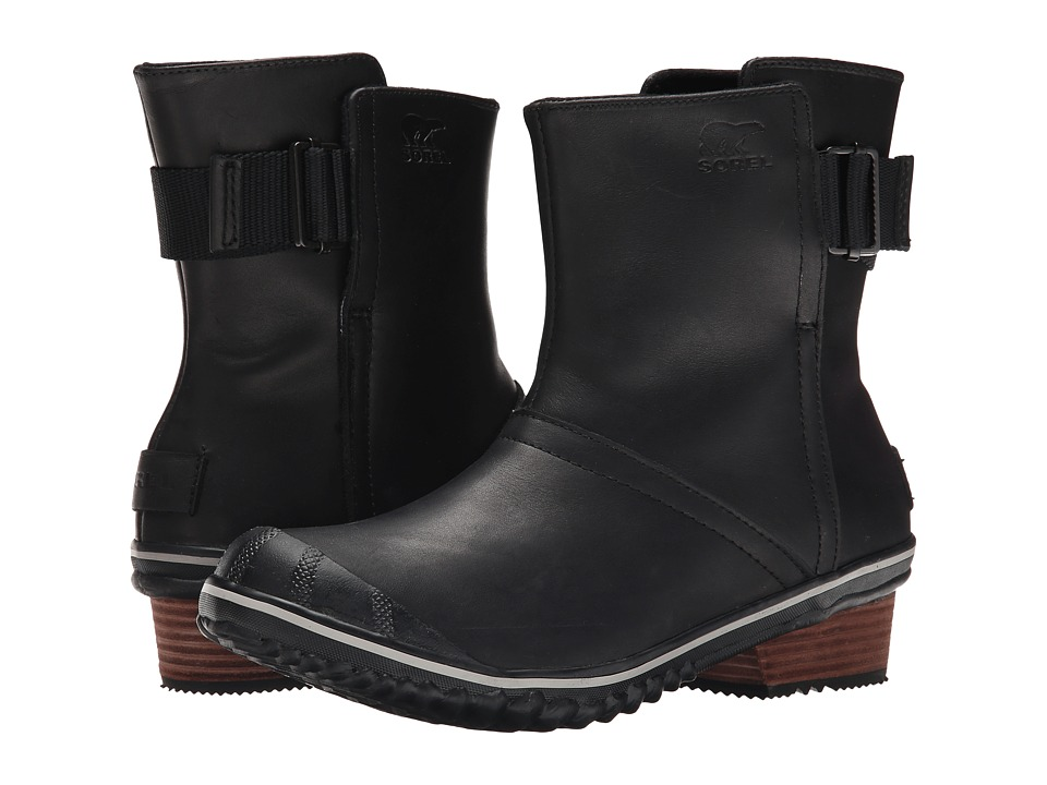 SOREL - Slimboot Pull On (Black) Women