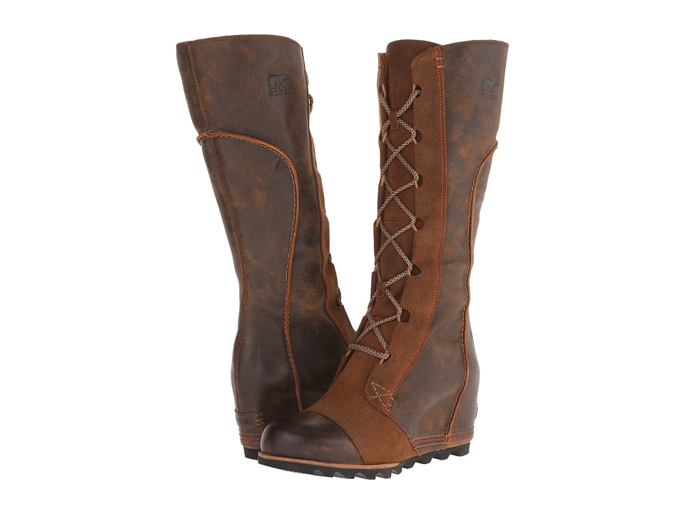 sorel cate the great wedge womens dress boots