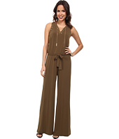 MICHAEL Michael Kors - Sleeveless Lace Up Jumpsuit
