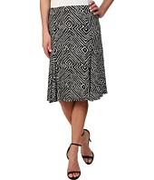 MICHAEL Michael Kors - Godet Panel Matte Jersey Skirt
