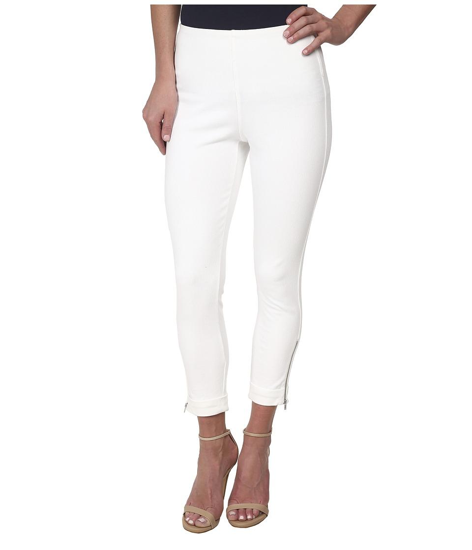 Lysse Denim Cuffed Crop (White) Women's Jeans