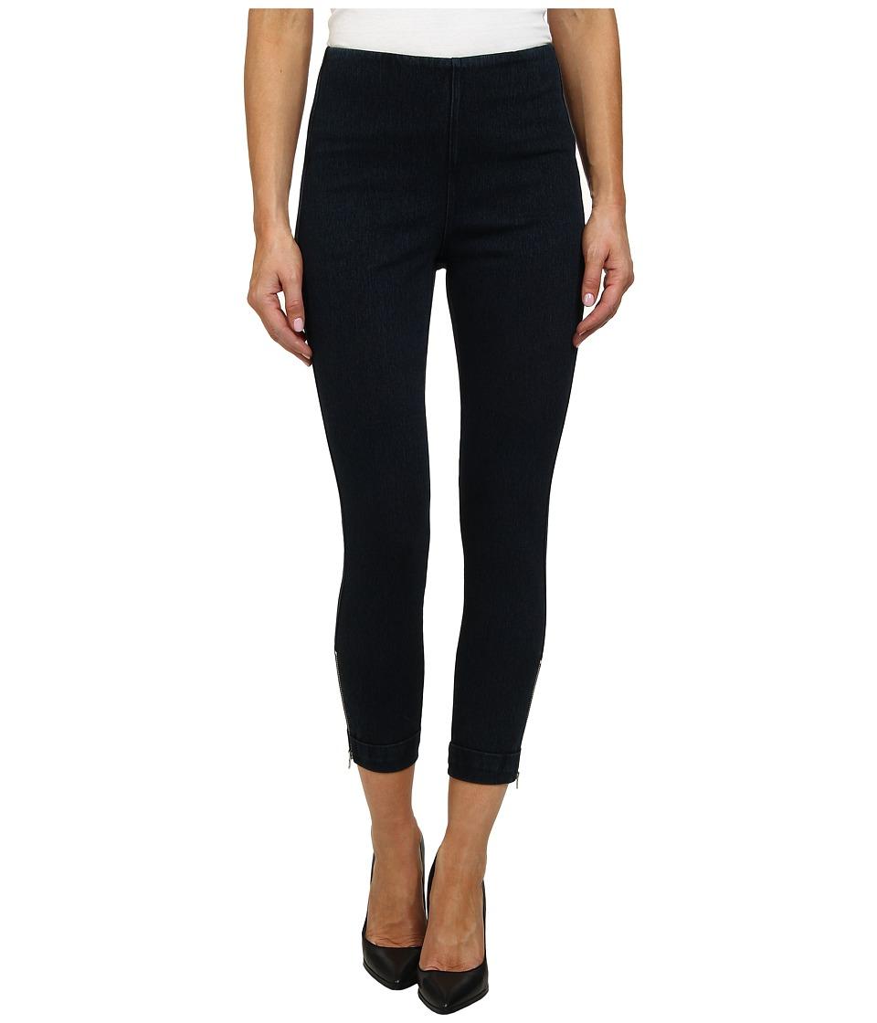 Lysse Denim Cuffed Crop Indigo Womens Jeans