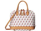 Dooney & Bourke Collegiate Zip Zip Satchel
