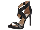 BCBGMAXAZRIA - Elyse (Black Satin/Beads)