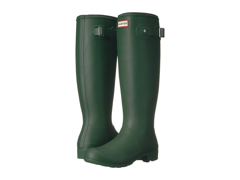 Hunter Original Tour Packable Rain Boot (Hunter Green) Women