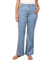 NYDJ Plus Size - Plus Size Wylie Trouser - Chambray