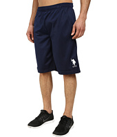 U.S. POLO ASSN. - Solid Tricot Athletic Shorts