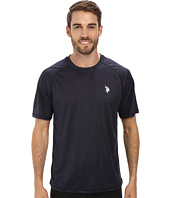 U.S. POLO ASSN. - Solid Rashguard UPF 50+ Swim T-Shirt