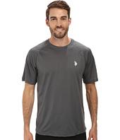 U.S. POLO ASSN. - Solid Rashguard UPF 50+ Swim T-Shirt
