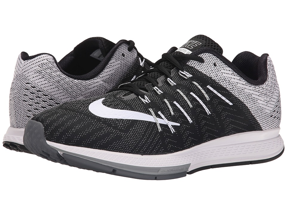 Nike - Air Zoom Elite 8 (Black/Wolf Grey/Dark Grey/White) Men