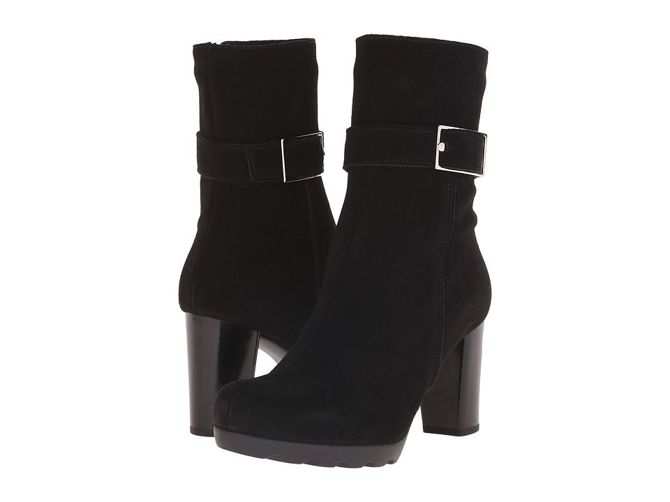 La Canadienne - Mindie (Black Suede) Women