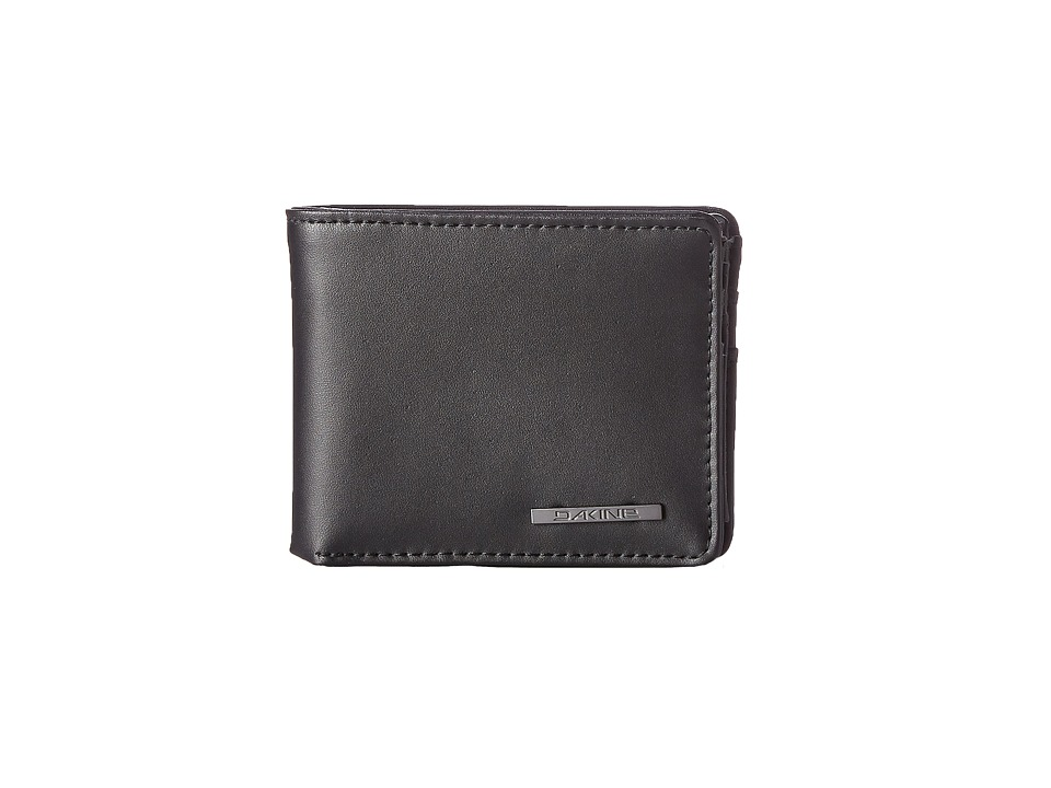 Dakine Agent Leather Wallet Black Wallet Handbags