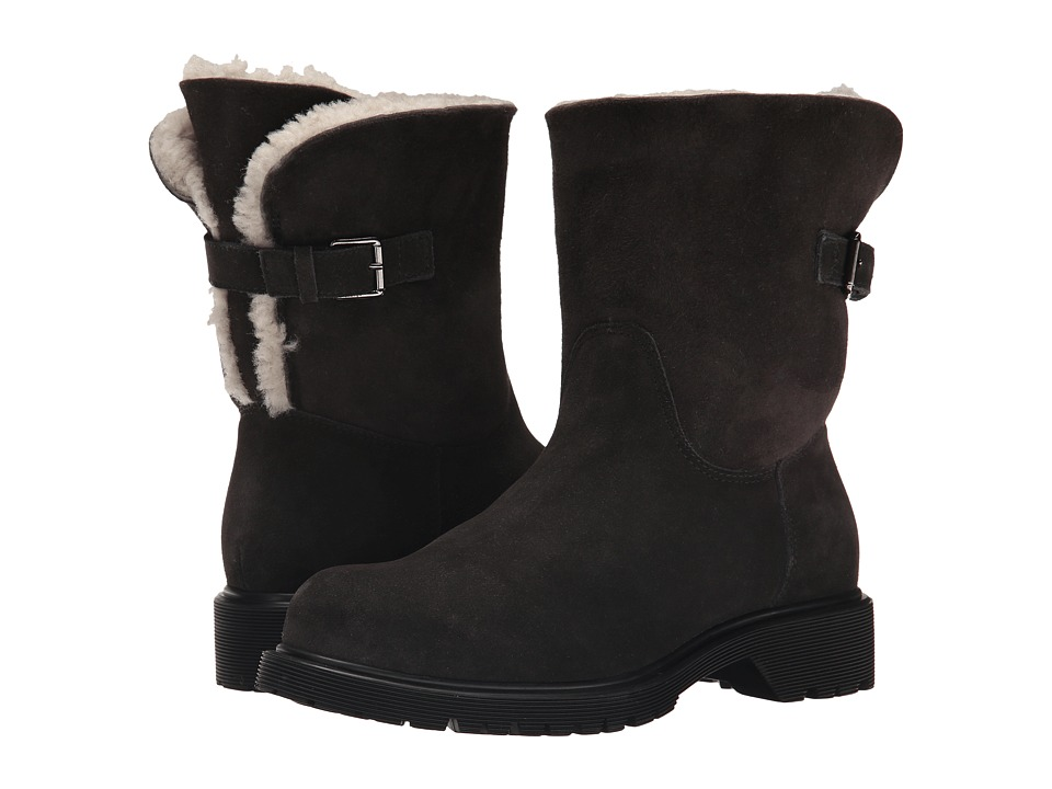 La Canadienne Honey (Fumo Suede/Sueded Shearling) Women's...