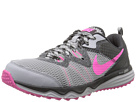 Nike Dual Fusion Trail (Wolf Grey/Anthracite/Black/Pink Pow)