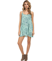 Free People - Polyester Chiffon Printed Emily Slip