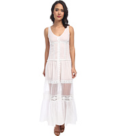 Free People - Voile & Chiffon Victoria Button Front Maxi Slip