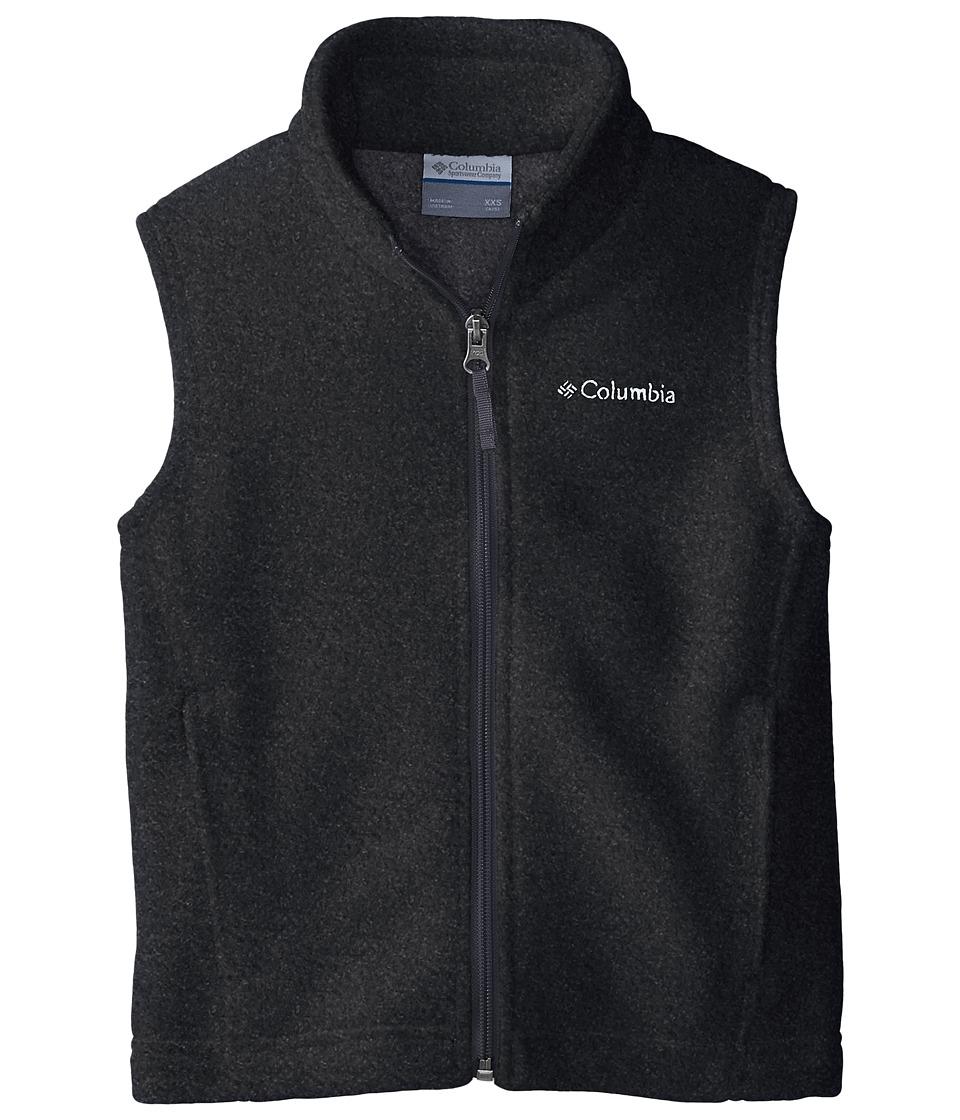 Columbia Kids - Steens Mountaintm Fleece Vest (Little Kids/Big Kids) (Charcoal Heather) Boys Vest