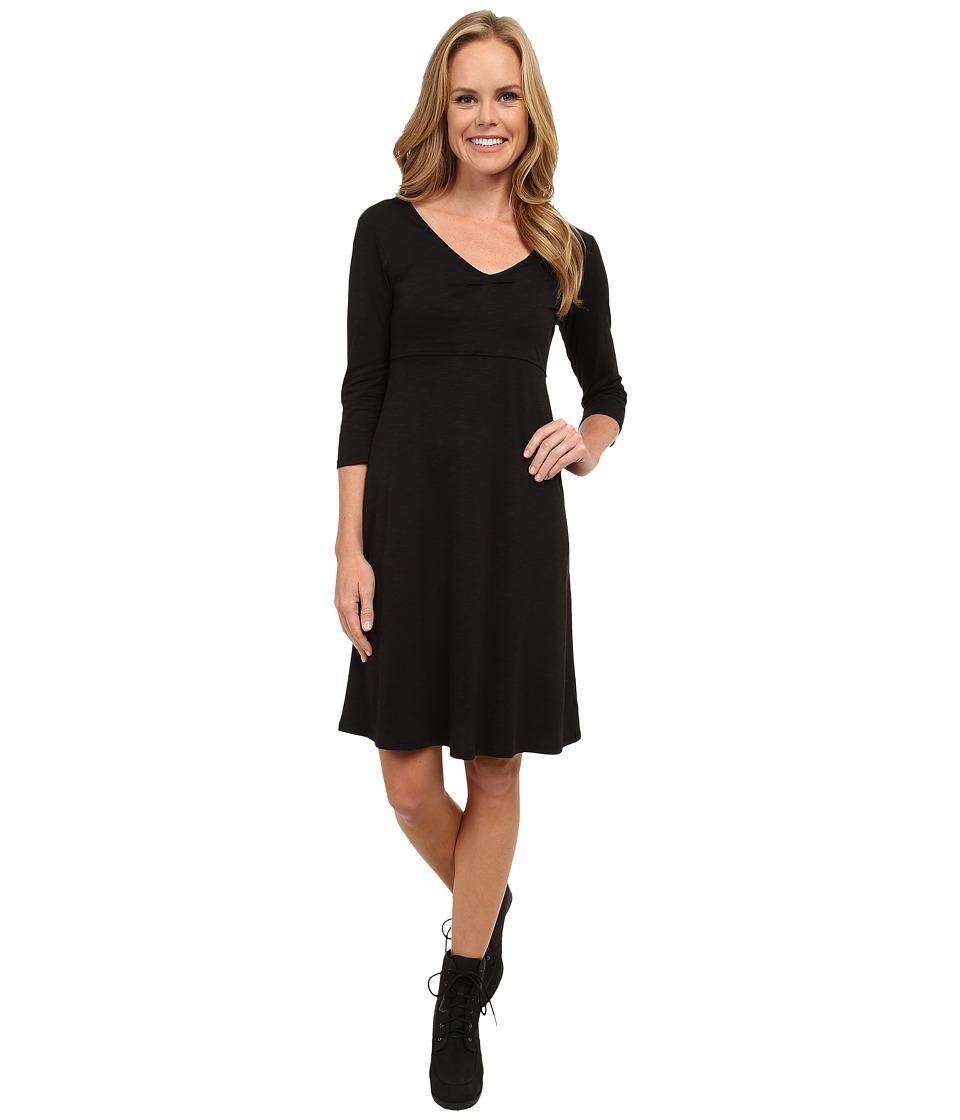 ToadampCo Rosalinda Jersey Knit Dress Black Womens Dress