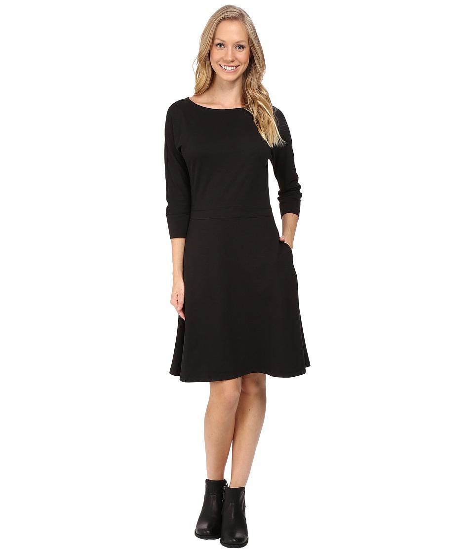 Toad&Co Mizdress Knit Dress (Black) Women