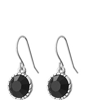 The Sak - Solitaire Stone Drop Earrings