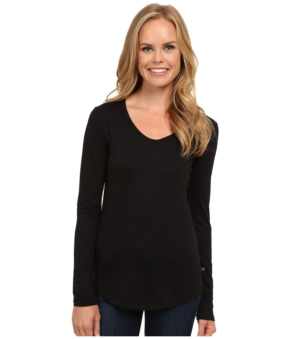 Toad&Co - Marley Long Sleeve Tee (Black) Womens T Shirt