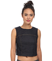 7 For All Mankind - Crop Seamed Tank Top
