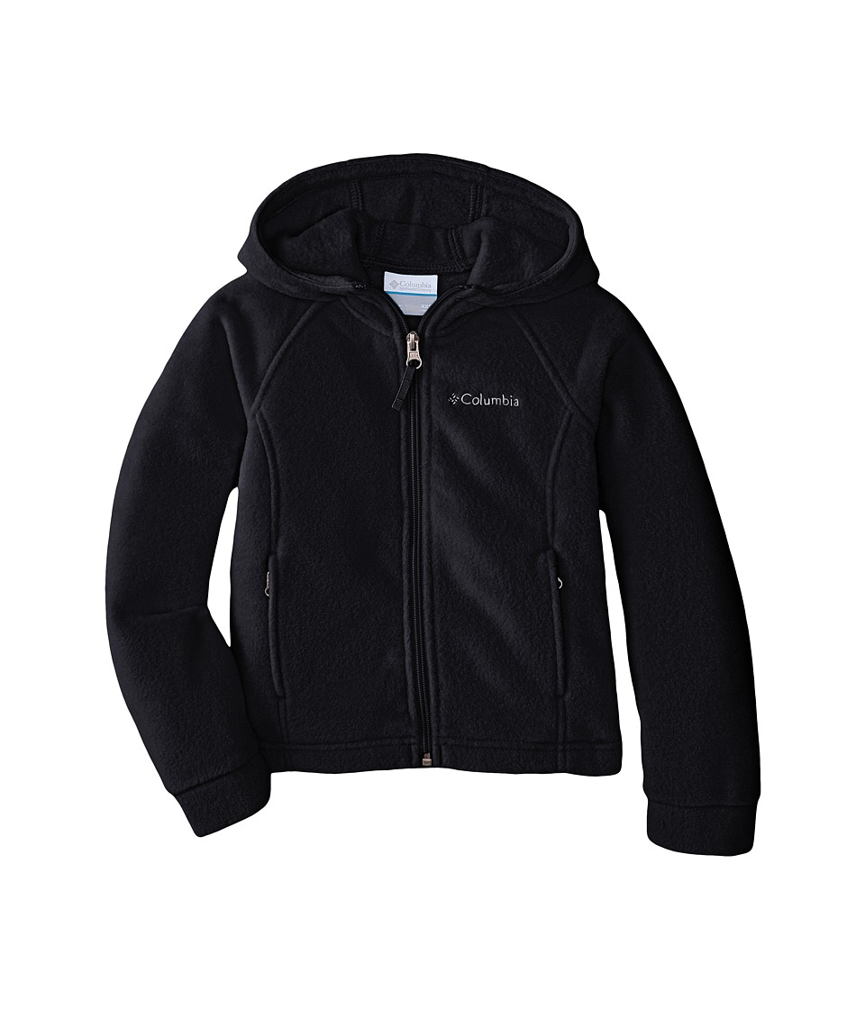 Columbia Kids Benton II Hoodie Little Kids/Big Kids Black Girls Coat